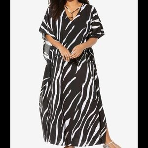 Swimsuits For All NWT V-Neck Swim Caftan, 26/28